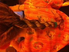 how to keep curly hair tamed at night twist two strands in the same direction and then go the