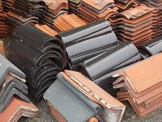 Reclamation sales #Lowestoft.Tiles,Slates,Chimney Pots,