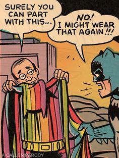batman as hoarder