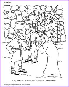 Coloring Page 2 Statue Daniel Coloring Pages