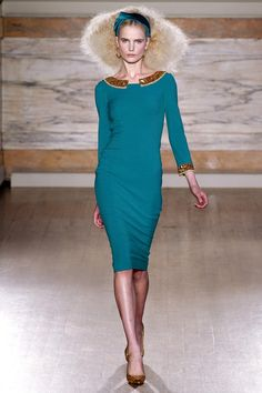 Beautiful Klimt-inspired collection. L'Wren Scott Fall 2013