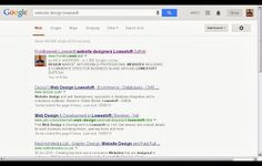 "page 1 Google search ""website design lowestoft"" and many more Page 1s For associated Keywords"