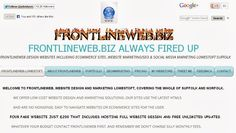 http://www.frontlineweb.biz/ Website Design/Marketing #Suffolk