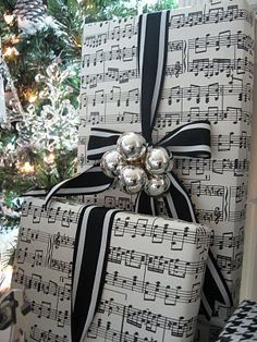 Gift packaging for the music lover.