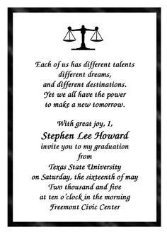 Law School Graduation Quotes Congrats. QuotesGram