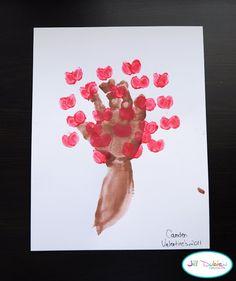 arbre de la saint Valentin