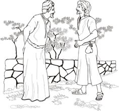Israel Divided Kingdom Coloring Pages Sketch Coloring Page