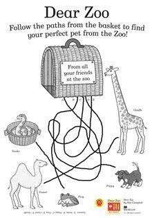 Dear Zoo on Pinterest