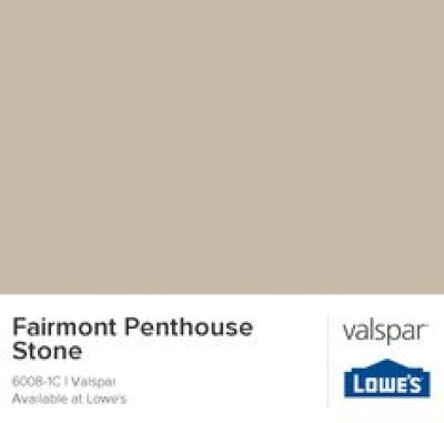 Fairmont Penthouse Stone by Valspar {favorite neutrals}