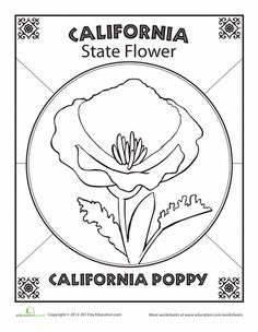 California History Coloring Pages