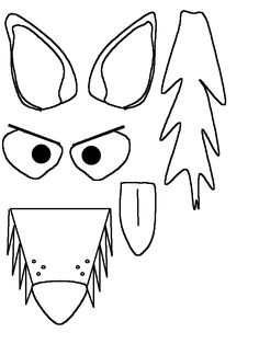 Three Little Pigs & Wolf Masks