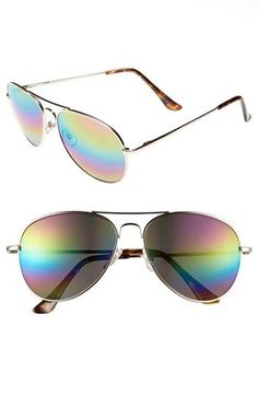 Fantas Eyes Aviator Sunglasses available at #Nordstrom