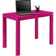 Hot pink desk  Anything Pink  Pinterest