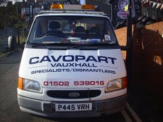 CAVOPART VAUXHALL BREAKERS & SPARES LOWESTOFT
