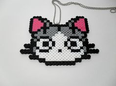 Chi Kitty Anime Sprite Necklace by DelightfulEpiphany