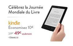 Jusqu'à dimanche la liseuse Amazon Kindle à moins de 50 euros port inclus - http://www.bons-plans-malins.com/jusqua-dimanche-la-liseuse-amazon-kindle-a-moins-de-50-euros-port-inclus/ #High-tech, #Loisirs