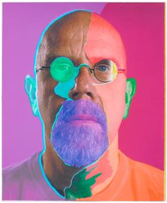 Chuck Close, Self-Portrait/collage, 2015. Read the review. KERRY RYAN MCFATE/PACE GALLERY