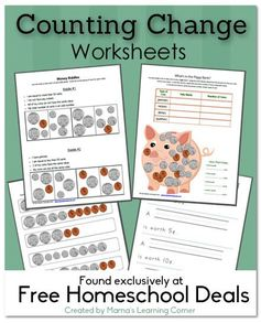 Free Download: Counting Change Worksheets