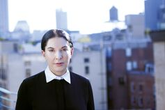 Marina Abramović photographed at her New York City apartment on September 18. ©KATHERINE MCMAHON