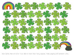 St. Patrick's Day Dice Game FREEBIE!