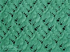 Chinese Lace . Knitting in the round
