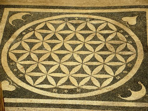 Floor mosaic at Ephesus