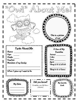 Classroom Decor Ideas: Editable owl theme classroom