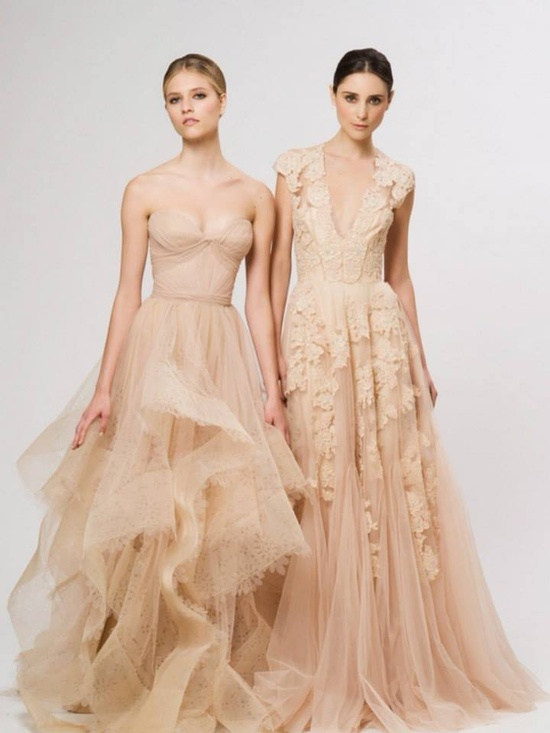 Nude gowns-very pretty