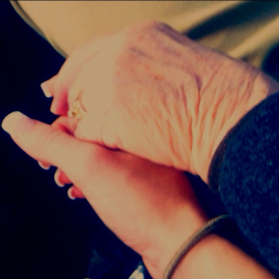 Grandmother & Granddaughter ... I would give anything to hold my Grandmother's hand again.