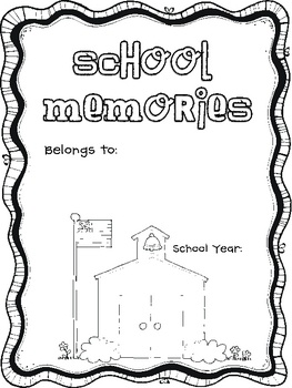 Classroom Decor Ideas: School Memories-FREE download of