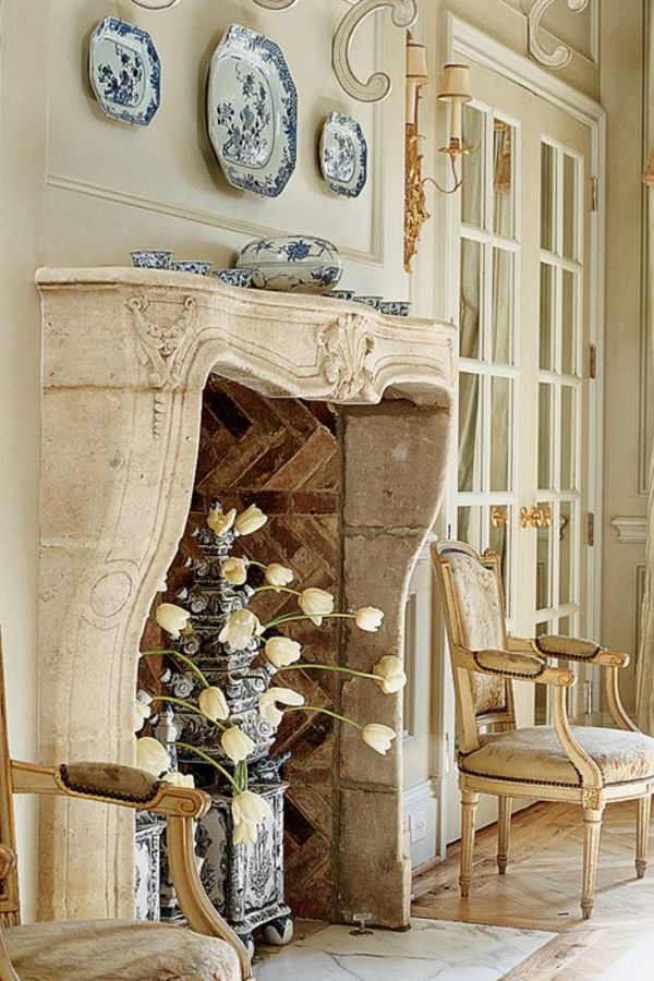 french country designs living rooms vertical blinds room fireplace on pinterest   fireplaces, surrounds ...