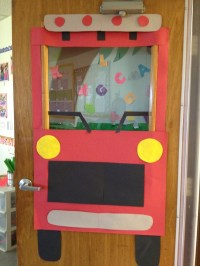 Transportation door decoration