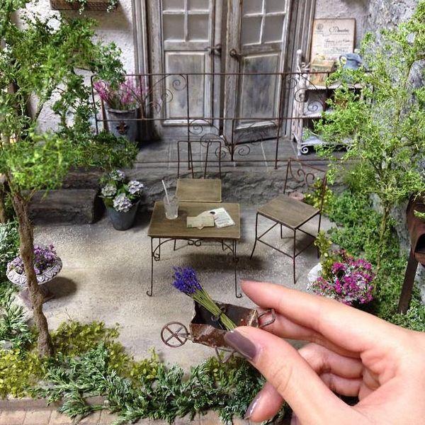 miniature gardens plants flowers