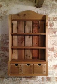1000+ ideas about Wooden Spice Rack on Pinterest | Country ...