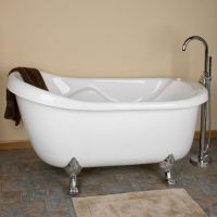 Claw foot tub with jets | Dream home | Pinterest