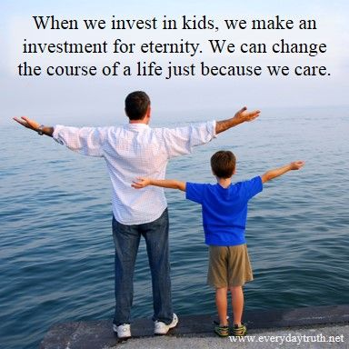 Investing in Children Matters Why taking time to spend time with kids matters