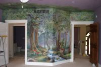 Murals - Enchanted Forest | Little Girl's room Ideas ...