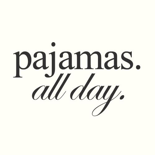 Make an Official Jammie Day every once in a while. No work, no worries, just being still and quiet at home in something cozy. It works.