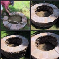 DIY fire pit. | Crafty... | Pinterest