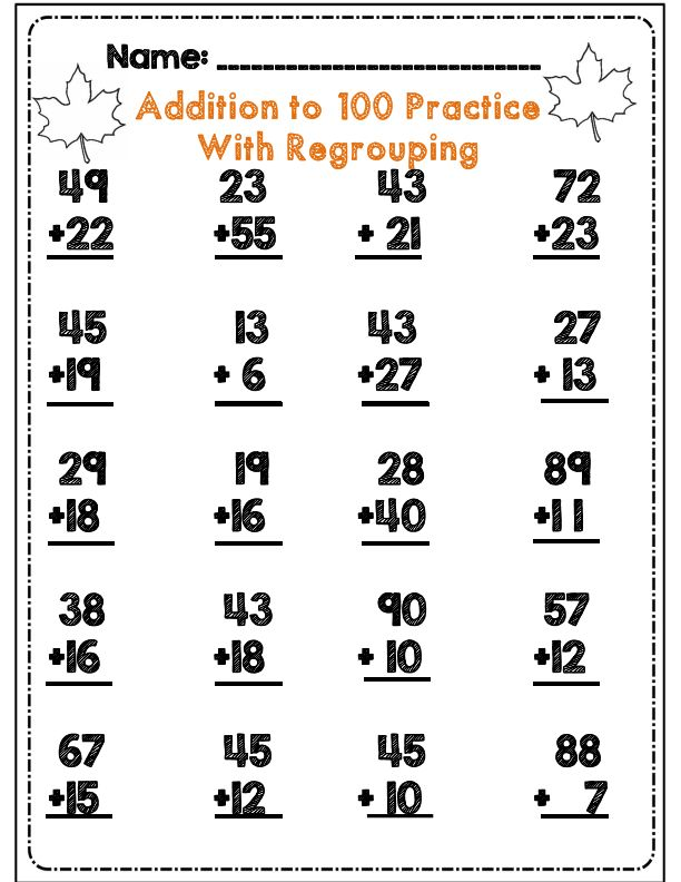 Second Grade Fall Math & ELA Activity Set *Common Core Aligned