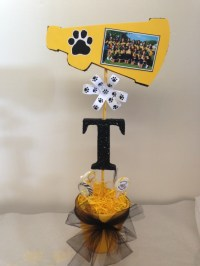 Cheerleading Banquet Table Decorations Photograph | Cheer ba
