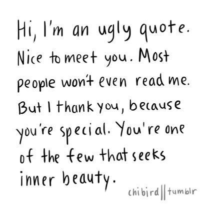 Im Fat And Ugly Quotes QuotesGram