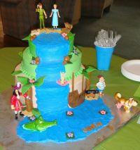 Peter Pan Baby Shower Cake | Peter Pan Shower | Pinterest
