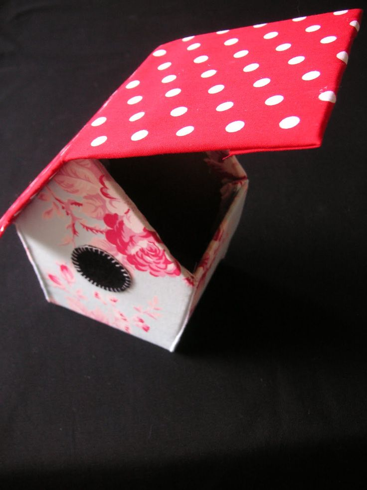 Bird House treat box tutorial