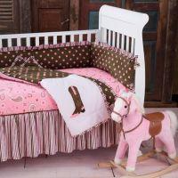pink paisley western crib bedding   Babies   Pinterest