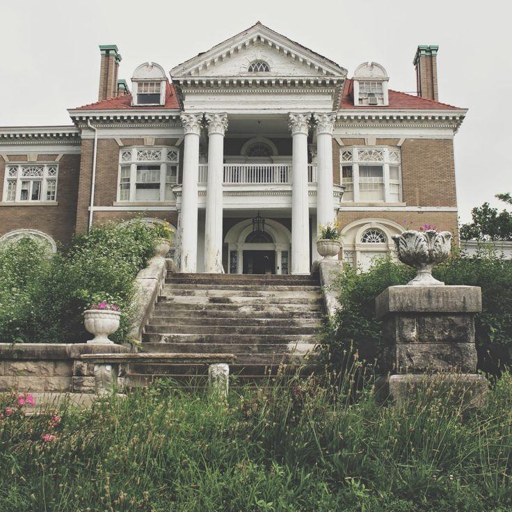 abandoned victorian mansion interiors