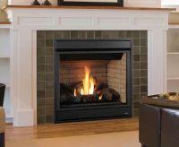 Merit Gas Fireplace with Brick Panels | interior design ...