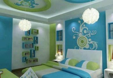 Bright Blue Bedding