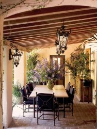 Mediterranean Patio | Spanish style decor | Pinterest