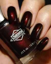 Dark Red Nails' | Nails | Pinterest
